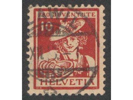 1916, 10 C Kroje, MiNr.132, razítkované, dv