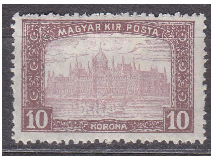 10K Parlament, vysoký nominál!, * po nálepce, zn. platná v ČSR, ilustrační foto