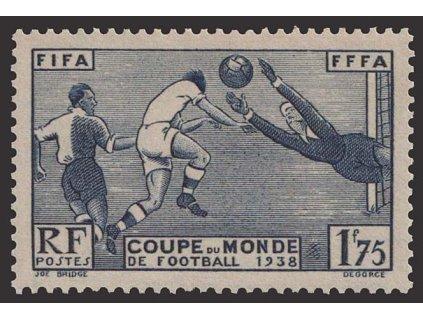 1938, 1.75 Fr Fotbal, MiNr.427, **