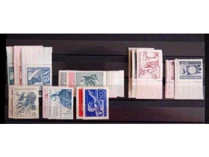 1946-8, kompletní ročníky známek, ** , ilustrační foto
