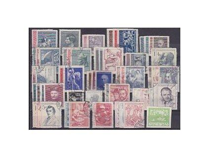 1946-8, kompletní ročník známek, razítkované, razítkované, ilustrační foto