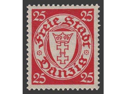 Danzig, 1935, 25 Pf Znak, MiNr.246, **