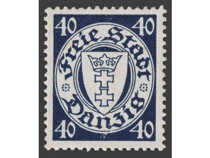 Danzig, 1938, 40 Pf Znak, MiNr.295, **