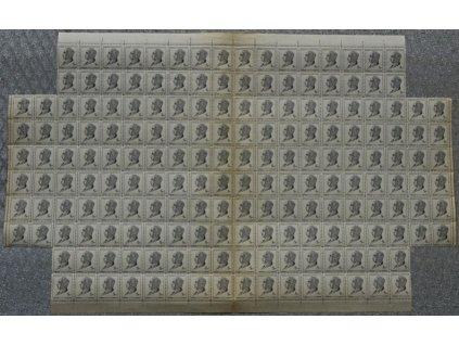 1948, 8Kčs Beneš, 194 ks blok (bez roh. miniatur)