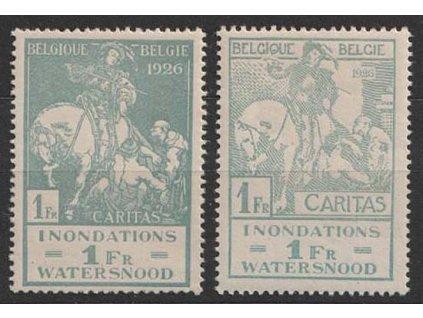 1926, 1 Fr série, MiNr.208-9, **