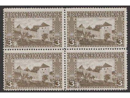 1906, 3 H Krajinky, 4blok, MiNr.31, **