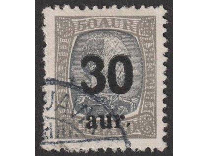 1925, 30A/50A Christian, MiNr.112, razítkované