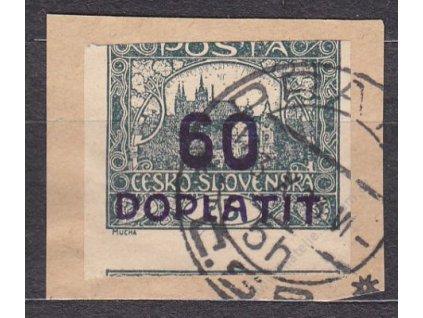 60/75h šedozelená, příčkový typ, Nr.DL22, výstři.