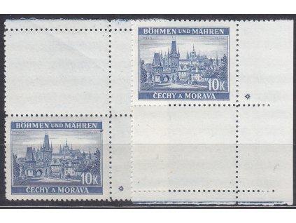 10K Praha, kraj. H+D kupon s DZ - hvězdička, Nr.39, **