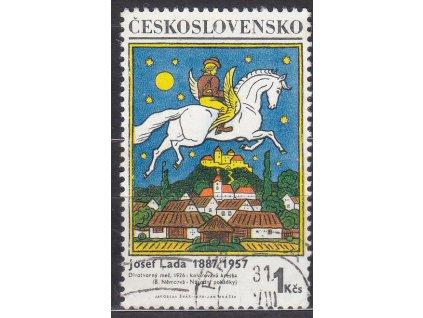 1970, 1Kčs Lada, II.typ, Nr.1824b, razítkované, ilustrační foto