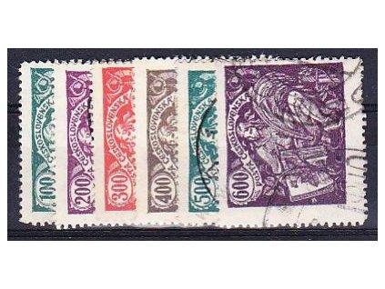 100-600h série, Nr.164-9, razítkovaná