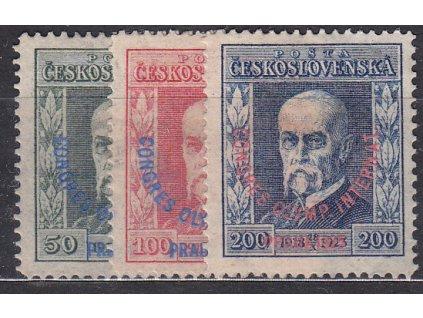 50-200h Kongres, série, 200h zk.Gilbert, Nr.180-182, * po nálepce