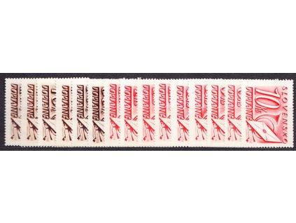 1942, 10h-10Ks doplatní série, Nr.DL24-38, **