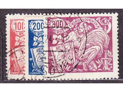 100-300h série, Nr.173-5, bez rozlišení typů a perforace, razítkované, ilustrační foto