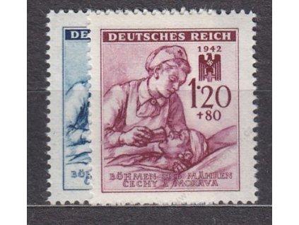 1942, 60h-1.20K ČK III, série, Nr.100-101, **