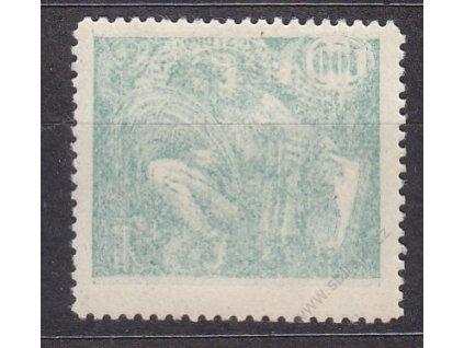100h zelená, lehký obtisk, Nr.164, * po nálepce