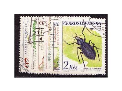 1962, 20h-2Kčs Brouci, série, Nr.1279-84, razítko