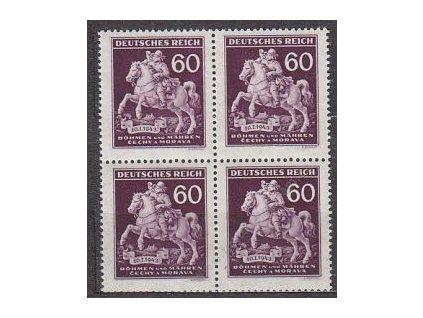 1943, 60h Postilión, 4blok, Nr.102, **