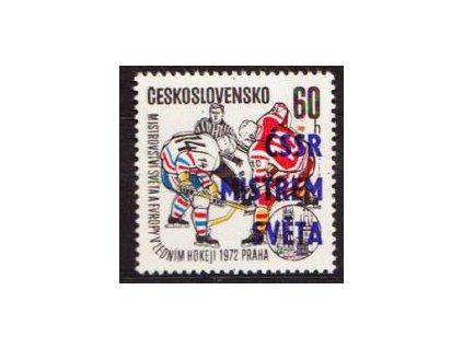 1972, 60h ČSSR mistrem světa, DV háček