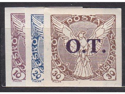 1934, 10-30h O-T série, Nr.OT1-3, **