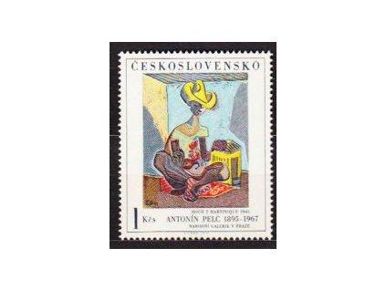 1973, 1Kčs Hoch z Martinique, I.typ, Nr.2054, **