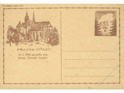 CDV 73Pa Košické vydání
