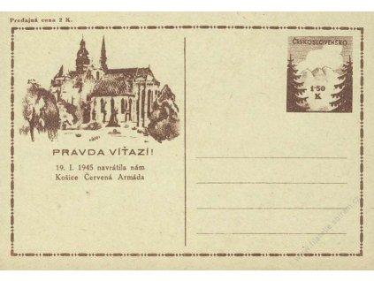 CDV 73 Košické vydání