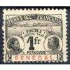 Senegal, 1906, 1Fr doplatní, MiNr.11, těžká *