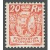 1924, 20Rp Znak, MiNr.70, * po nálepce