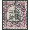 Ostafrika, 1905, 45H Lodička, MiNr.36, razítkované