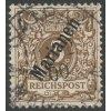Marianen, 1900, 3Pf hnědá, MiNr.1II, razítkované