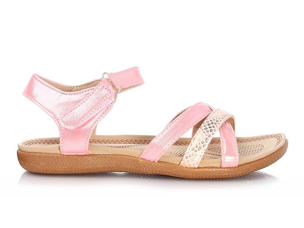Sandály bez podpatku