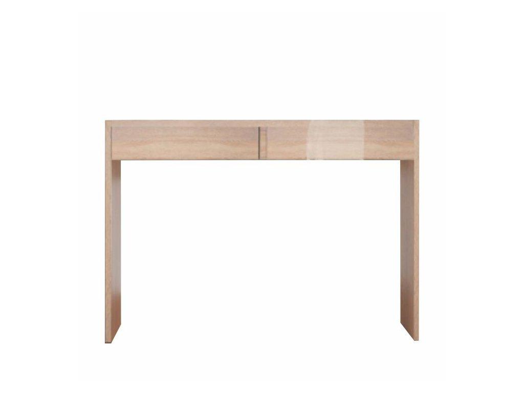 Toaletní stolek / psací stůl v dekoru dub sonoma VIOLET