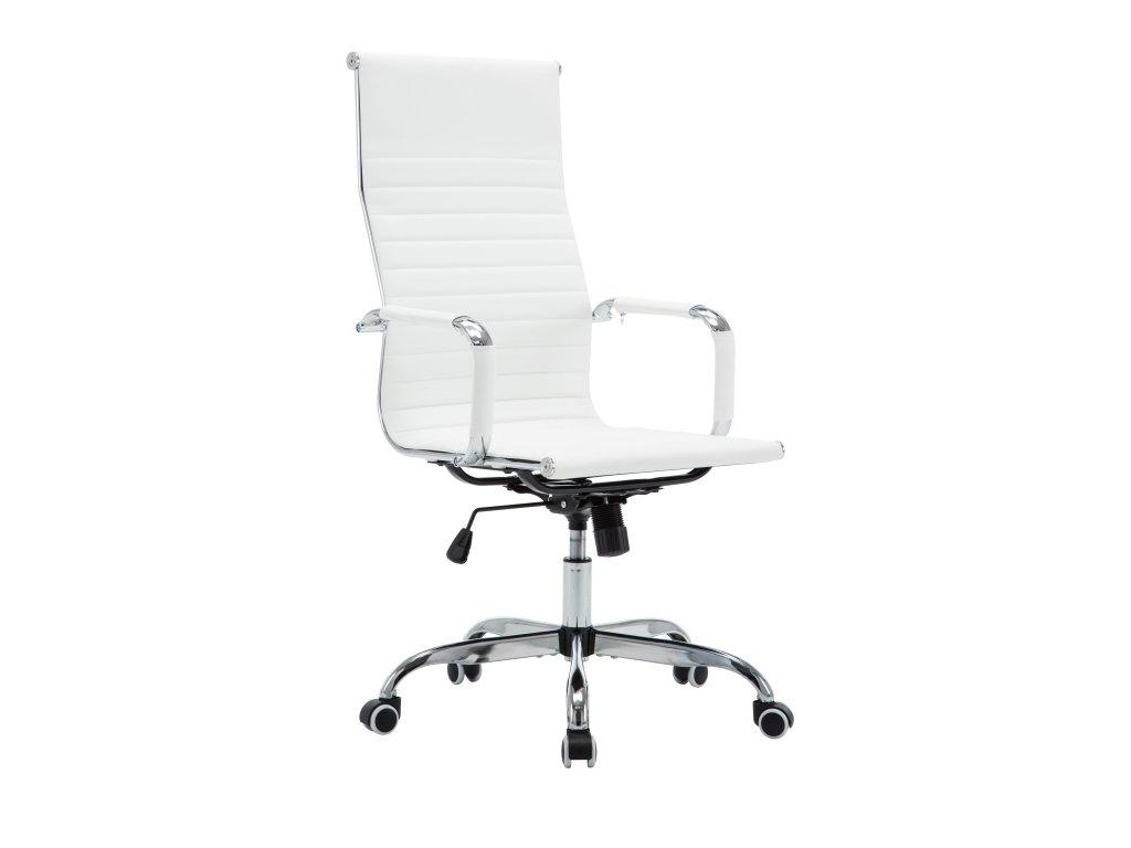 Bílá kancelářská židle AZURE 2 NEW