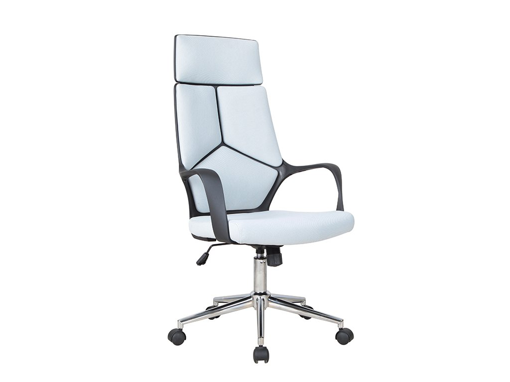 Kancelářská židle, šedá / černá, BAKARI