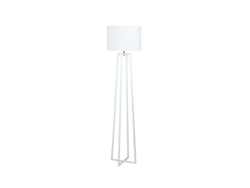 Bílá stojací lampa QENNY TYP 16