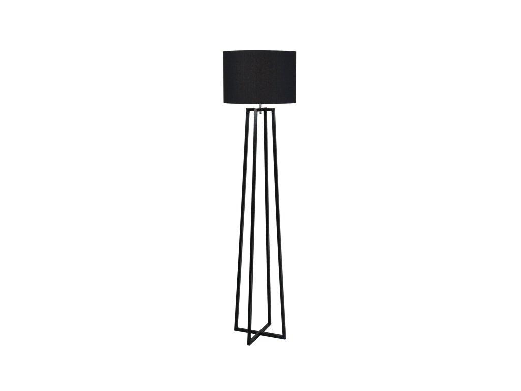 Černá stojací lampa QENNY TYP 17