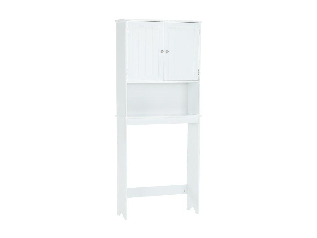 Bílá skříňka nad WC ATENE TYP 5