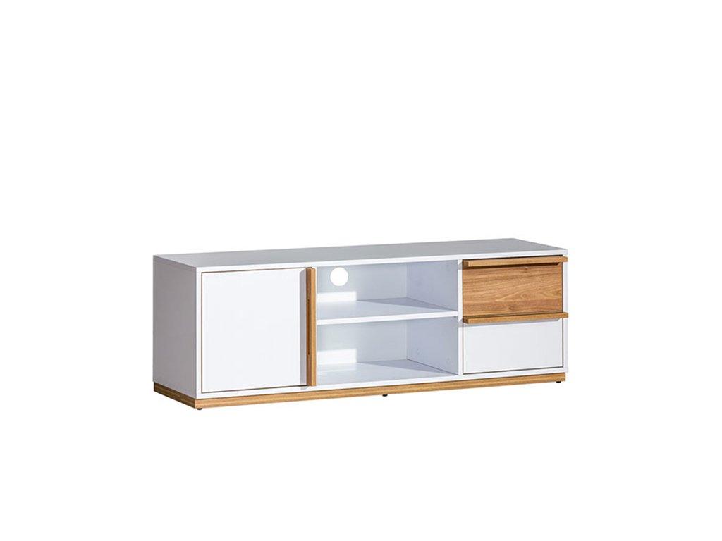 Bílý RTV stolek KNOX E4