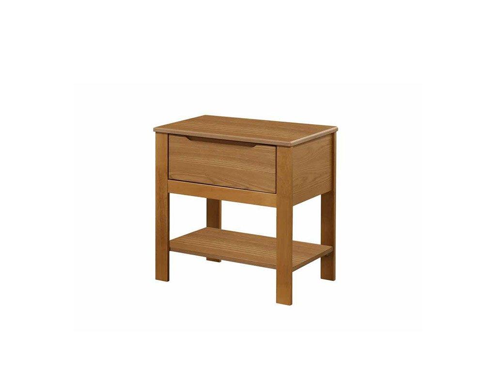 Noční stolek v dekoru dub KABOTO
