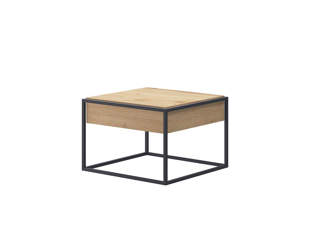 Konferenční stolek s deskou v dekoru dub SPRING EL60