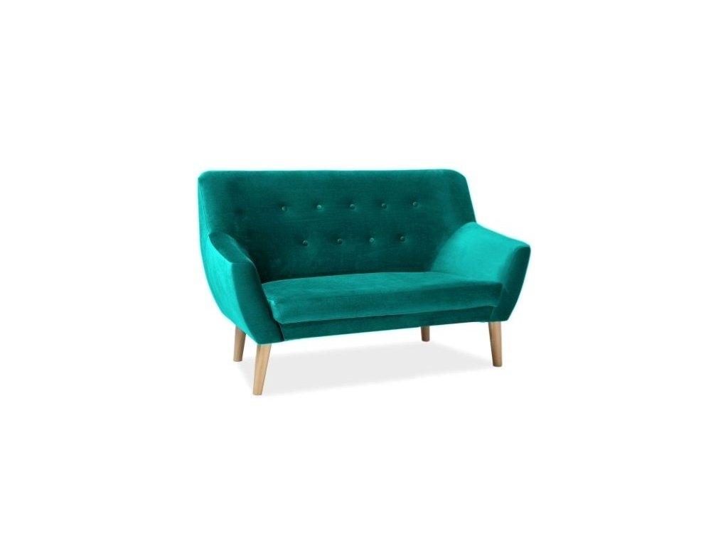 nordic2v85 sofa nordic 2 velvet kolor turkus tapicerka bluvel 85 buk