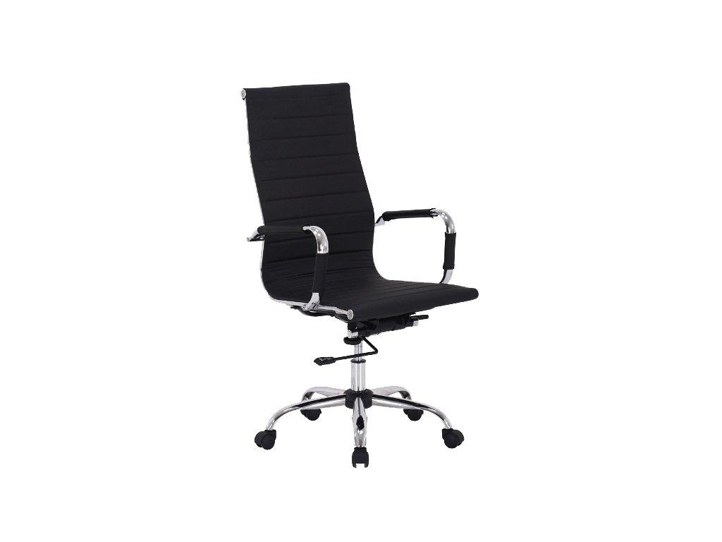 Kancelářská židle, černá, Q-040
