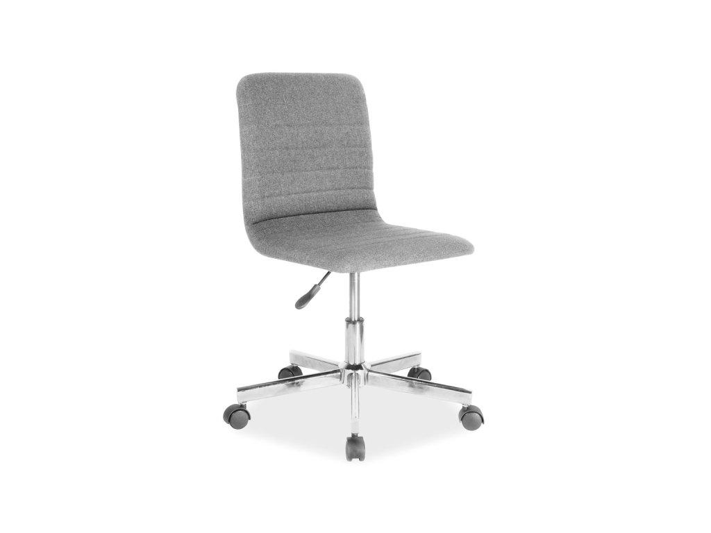 Kancelářská židle, šedá, Q-M1