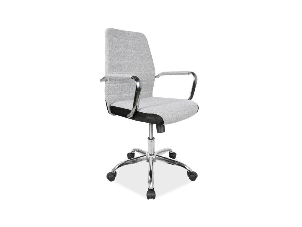 Šedá kancelářská židle Q-M3