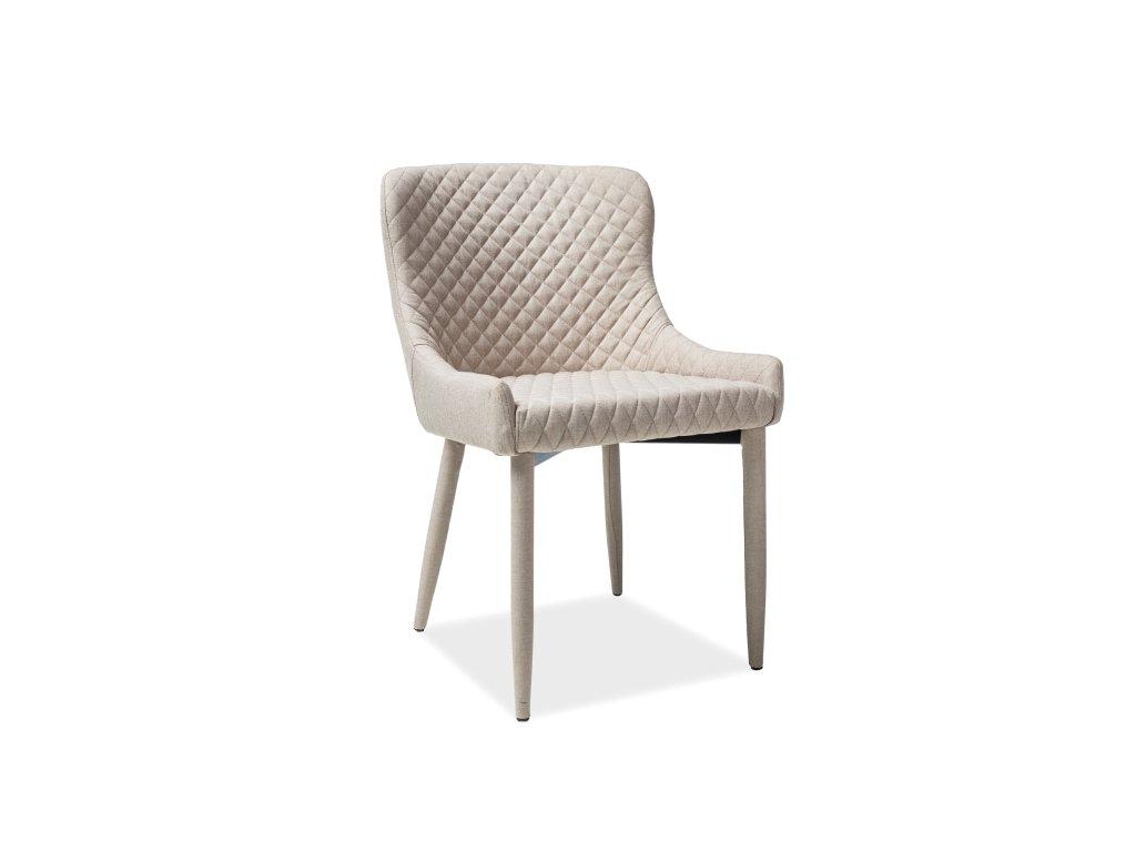 Židle, béžová, COLIN