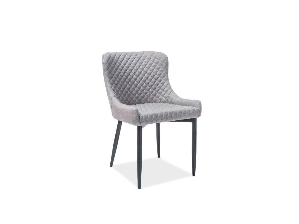 Šedá židle COLIN B