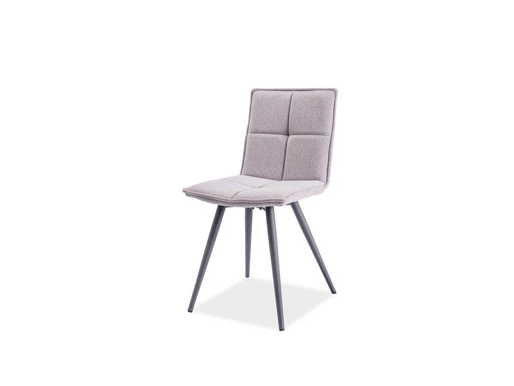 Židle, šedá, DARIO