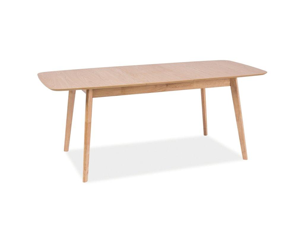 Jídelní stůl s deskou v dekoru dub FELICIO 120(150)X75, rozkládací