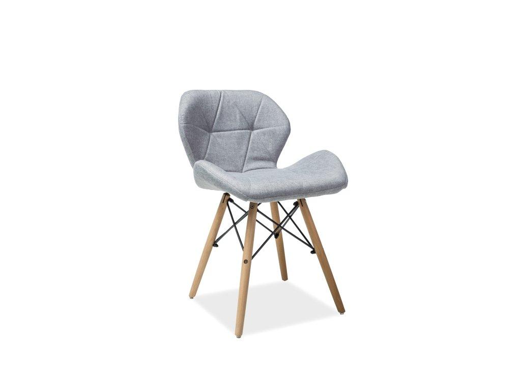 Šedá židle MATIAS II